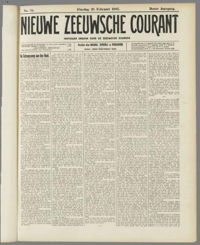 Nieuwe Zeeuwsche Courant 1907-02-26