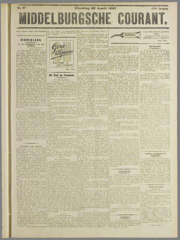 Middelburgsche Courant 1927-04-26