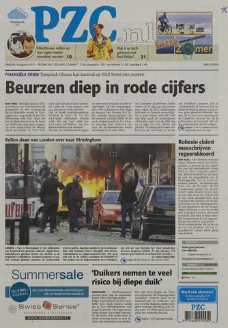 Provinciale Zeeuwse Courant 2011-08-09