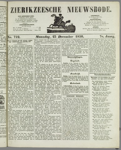 Zierikzeesche Nieuwsbode 1850-12-23