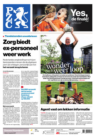 Provinciale Zeeuwse Courant 2017-08-04