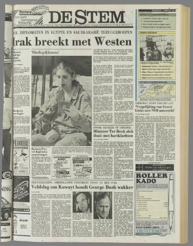 de Stem 1991-02-07