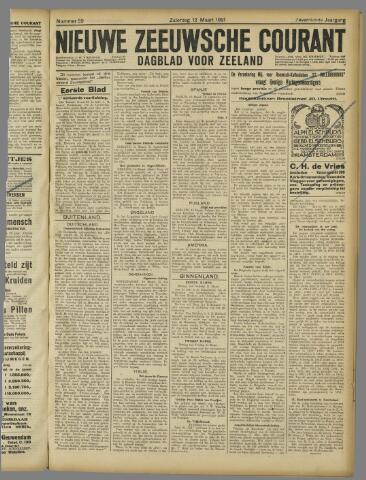Nieuwe Zeeuwsche Courant 1921-03-12
