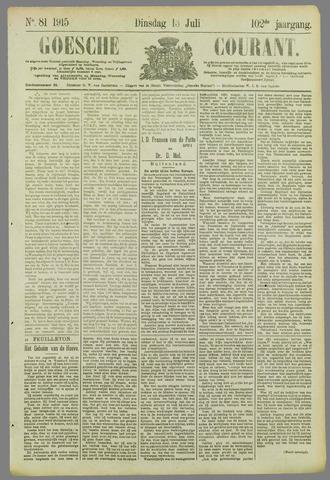 Goessche Courant 1915-07-13