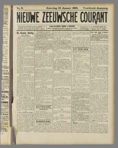 Nieuwe Zeeuwsche Courant 1918-01-19