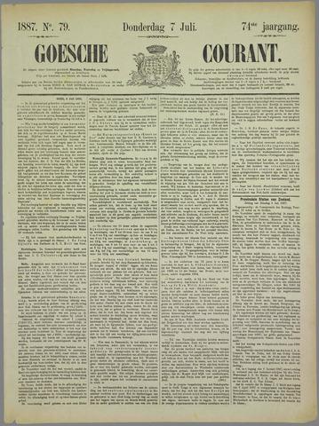 Goessche Courant 1887-07-07