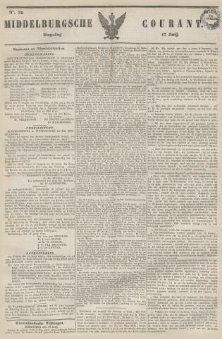 Middelburgsche Courant 1851-06-17