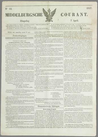 Middelburgsche Courant 1857-04-07