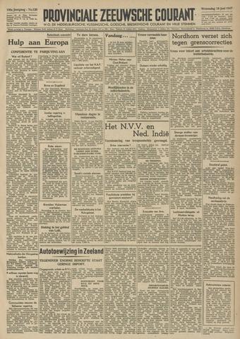 Provinciale Zeeuwse Courant 1947-06-18