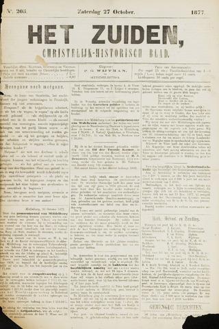 Het Zuiden, Christelijk-historisch blad 1877-10-27