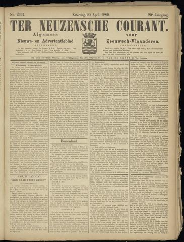 Ter Neuzensche Courant. Algemeen Nieuws- en Advertentieblad voor Zeeuwsch-Vlaanderen / Neuzensche Courant ... (idem) / (Algemeen) nieuws en advertentieblad voor Zeeuwsch-Vlaanderen 1889-04-20