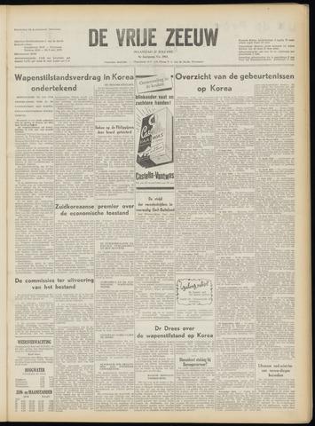 de Vrije Zeeuw 1953-07-27