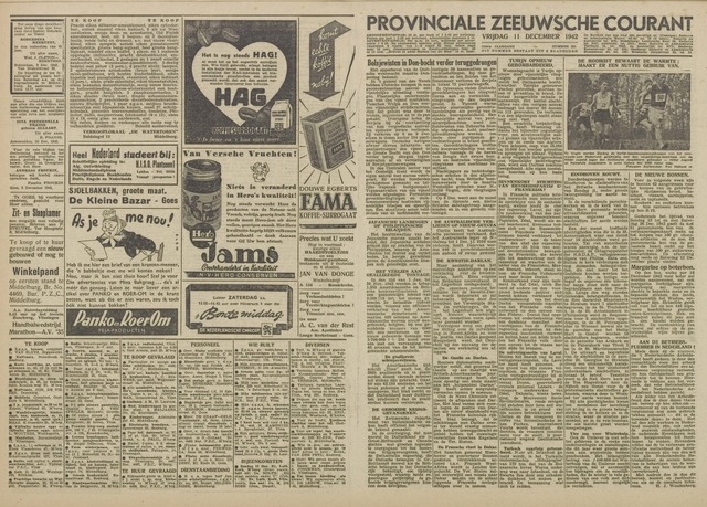 Provinciale Zeeuwse Courant 1942-12-11