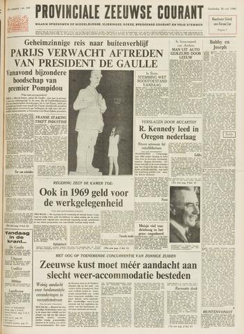 Provinciale Zeeuwse Courant 1968-05-30