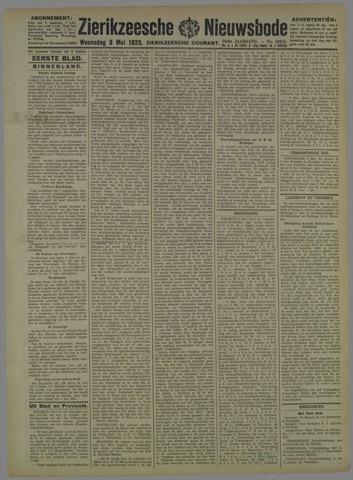 Zierikzeesche Nieuwsbode 1923-05-09