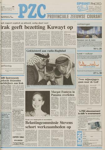 Provinciale Zeeuwse Courant 1991-02-22