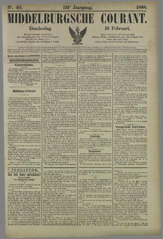 Middelburgsche Courant 1888-02-16