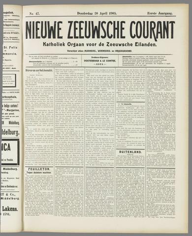 Nieuwe Zeeuwsche Courant 1905-04-20