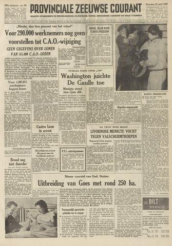 Provinciale Zeeuwse Courant 1960-04-23