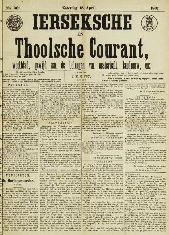 Ierseksche en Thoolsche Courant 1891-04-18