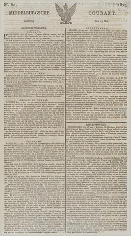 Middelburgsche Courant 1827-05-19