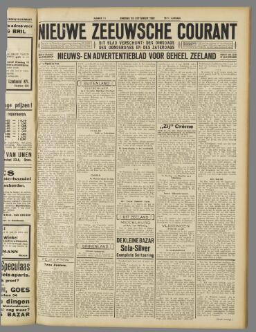 Nieuwe Zeeuwsche Courant 1932-09-20