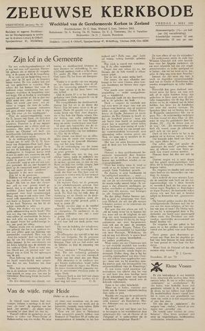 Zeeuwsche kerkbode, weekblad gewijd aan de belangen der gereformeerde kerken/ Zeeuwsch kerkblad 1959-05-08