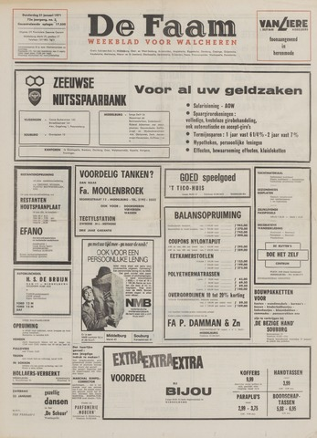 de Faam en de Faam/de Vlissinger 1971-01-21