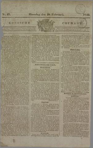 Goessche Courant 1842-02-28