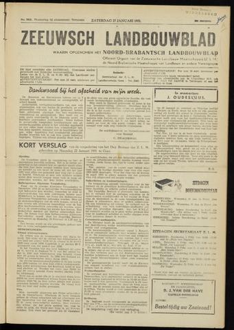 Zeeuwsch landbouwblad ... ZLM land- en tuinbouwblad 1951-01-27