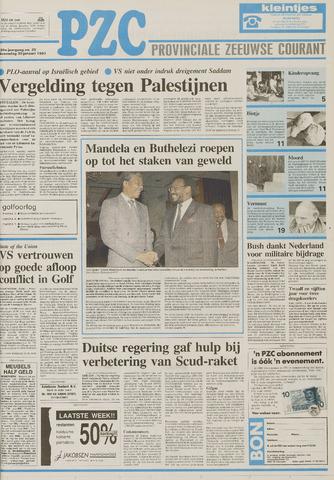Provinciale Zeeuwse Courant 1991-01-30