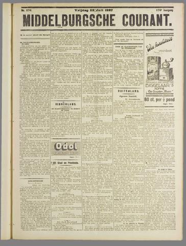Middelburgsche Courant 1927-07-22