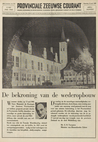 Provinciale Zeeuwse Courant 1960-05-14