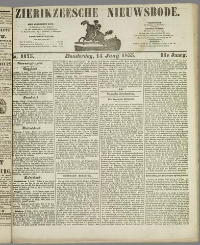 Zierikzeesche Nieuwsbode 1855-06-14
