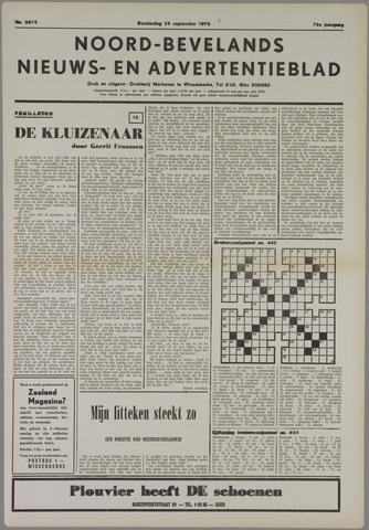 Noord-Bevelands Nieuws- en advertentieblad 1975-09-25