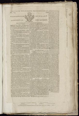 Middelburgsche Courant 1799-09-05
