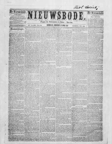 Sheboygan Nieuwsbode 1859-04-13