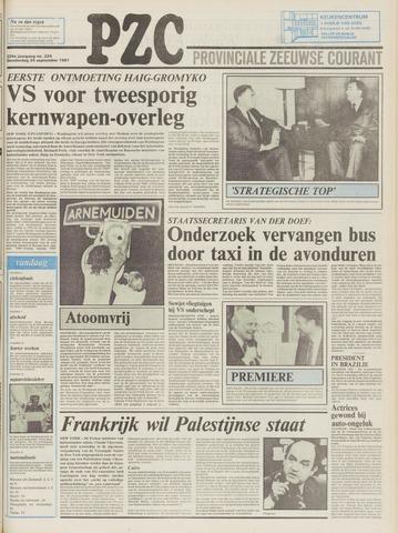 Provinciale Zeeuwse Courant 1981-09-24