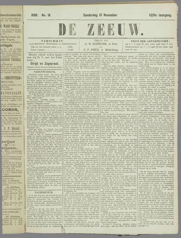 De Zeeuw. Christelijk-historisch nieuwsblad voor Zeeland 1890-11-13