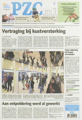 Provinciale Zeeuwse Courant 2009-09-29