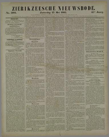Zierikzeesche Nieuwsbode 1885-05-23