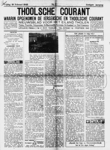 Ierseksche en Thoolsche Courant 1943-02-19