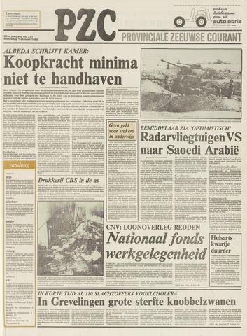 Provinciale Zeeuwse Courant 1980-10-01