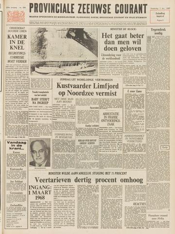 Provinciale Zeeuwse Courant 1967-12-07
