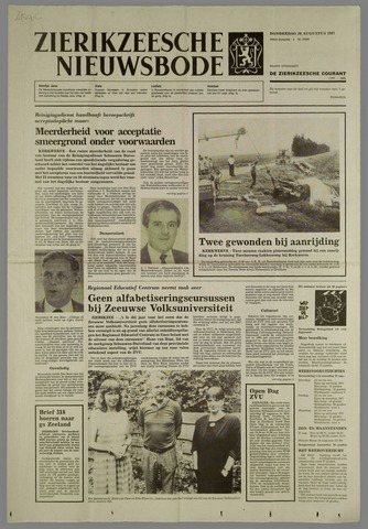 Zierikzeesche Nieuwsbode 1987-08-20