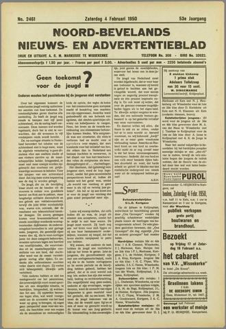 Noord-Bevelands Nieuws- en advertentieblad 1950-02-04