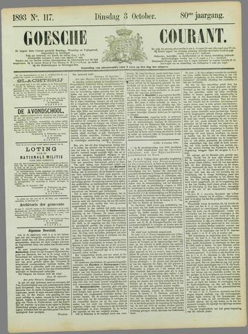 Goessche Courant 1893-10-03