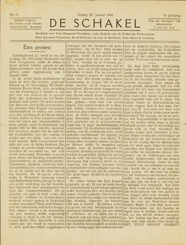 De Schakel 1945-01-26