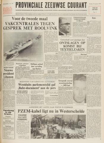 Provinciale Zeeuwse Courant 1970-08-18
