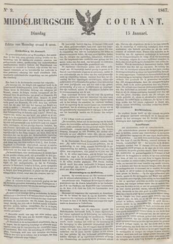 Middelburgsche Courant 1867-01-15
